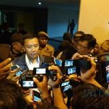 Menpora saat di wawancara awak media usai menjadi bintang tamu mata najwa. (eko Arif s /JatimTimes)