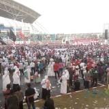 Acara kampanye terbuka capres nomor urut 01 Jokowi di Stadion Jember Sport Garden (foto : Moh. Ali Makrus / Jatim TIMES)