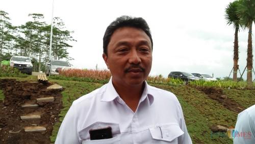 Direktur Utama Jasa Marga Pandaan-Malang (JPM) Agus Purnomo (Luqmanul Hakim/Malang Times)