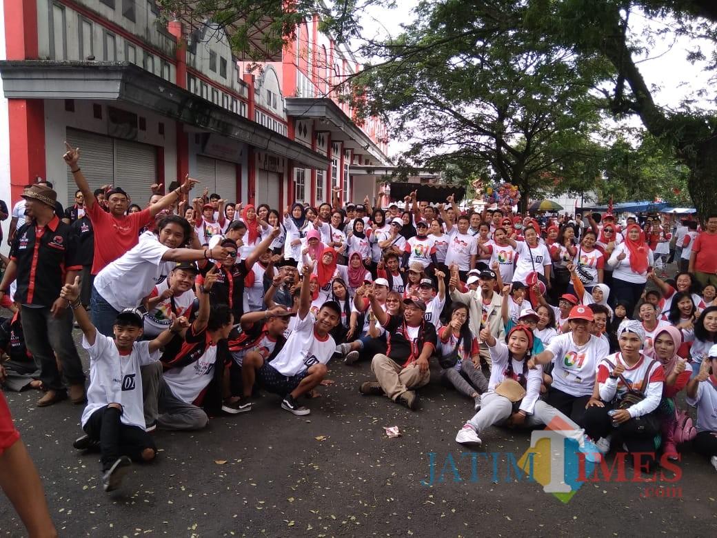 Relawan Projo Kota Blitar siap menangkan Jokowi-Amin.