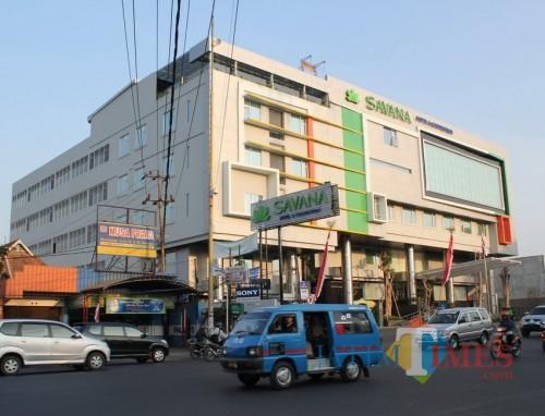 Hotel Savana yang berlokasi di Jalan Letjen Sutoyo nomor 23-34 merupakan salah hotel di Kota Malang yang berkomitmen mengikuti  Campaign #byesedotanplastik sejak beberapa bulan lalu. (Foto : Yogi Iqbal Rizkiawan/MalangTIMES)