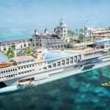 Streets of Monaco Yacht ini dikenal sebagai kapal pesiar termahal dan termewah di dunia. (Foto: ist)