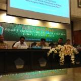 Kegiatan rapat koordinasi pelaksanaan MSF ke 26 di ruang sidang Balaikota Malang. (Foto: Nurlayla Ratri/MalangTIMES)