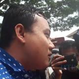 Fuad Bernardi saat selesai menjalani pemeriksaan di Polda Jatim, Selasa (26/3/2019) (Foto : M Bahrul Marzuki/SurabayaTIMES)