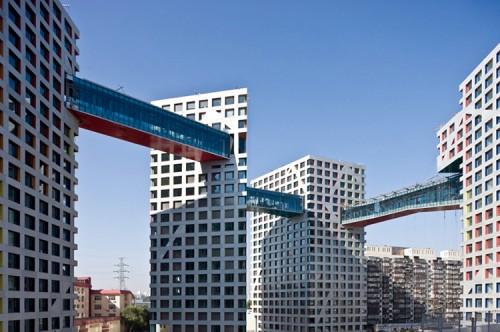 Ilustrasi skybridge yang akan dibangun (skyscraperdictionary.com)