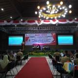 Rapat kerja TKPK yang digelar Pemkab Blitar di Kampung Coklat.(Foto : Team BlitarTIMES)