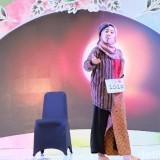Rizki Hidayati, mahasiswsi  Sosiologi Unisba Blitar,  tampil memukau di ajang Sunsilk Hijab Hunt 2019. (Foto : Anggi Mayasari/Wolipop)