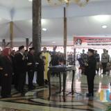 Seremonial mutasi dan sumpah jabatan di Pendopo Ronggo Hadinegoro.(Foto : Team BlitarTIMES)
