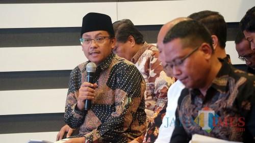 Wali Kota Malang Sutiaji saat mengikuti workshop optimalisasi manajemen yang digelar KPK RI di Jakarta. (Foto: Humas Pemkot Malang for MalangTIMES)