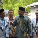Mendikbud Muhadjir Effendy saat sidak di SMK PGRI Songosari (Luqmanul Hakim/Malang Times)