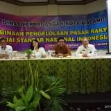 Menuju Pasar Rakyat Ber-SNI, Dinas Perdagangan Kota Malang Bina Pengelola dan Pedagang