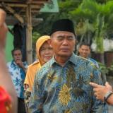 Mendikbud Muhadjir Effendy usai sidak di SMK N PGRI Singosari (Luqmanul Hakim/Malang Times)