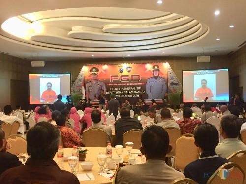 Suasana saat FGD di The Singhasari Resort, Jumat (29/3/2019). (Foto: Irsya Richa/MalangTIMES)
