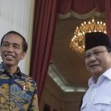 Elektabilitas Jokowi di mata PNS/Guru masih di bawah Prabowo (Ist)