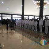 Pelantikan sejumlah pejabat dilingkungan Pemkab Lumajang pada hari ini (Foto : Moch. R. Abdul Fatah / Jatim TIMES)