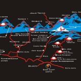 Ingin Mendaki Gunung Arjuna? Ini Peta Lewat Desa Sumbergondo