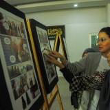 Datang ke Malang, Artis Marcella Zalianty Ajarkan Sejarah Pahlawan Lewat Komik