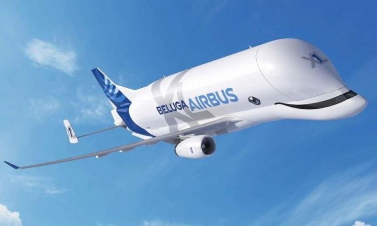 Salah satu pesawat unik berbentuk lumba-lumba Beluga Airbus. (Foto: istimewa)