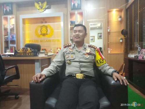 Kapolres Malang Kota AKBP Asfuri SIK SH MH  (Anggara Sudiongko/ MalangTIMES)
