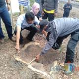 Sono Keling Dibalak, Kadishut dan Kadis PU Binamarga Provinsi Turun ke Lapangan