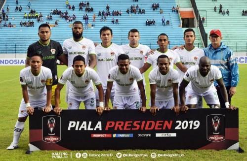 Skuat Kalteng Putra di Piala Presiden 2019 (official Kalteng Putra)