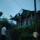 Diterjang Angin Kencang,  22 Rumah Warga Jabung Kabupaten Malang Rusak Parah