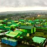Area kampung Hijau di�Dusun Krajan, Desa Beji, Kecamatan Junrejo, Kota Batu. (Foto: Irsya Richa/MalangTIMES)