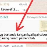Beredar Chat WhatsApp Sebut Kyai Cebong, Ini Kata Ketua PCNU Lumajang