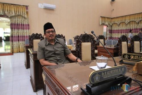 Ali Mukhtar, ketua Tim Kemenangan Daerah (TKD) Jokowi-Ma'ruf. (Agus Salam/Jatim TIMES)
