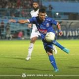 Striker lokal Arema FC, Dedik Setiawan (official Arema FC)