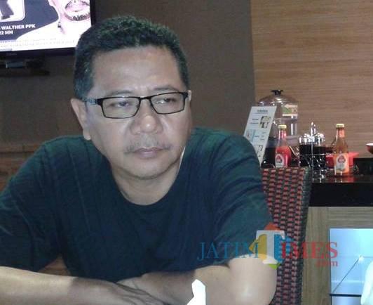 Drs. Suharwoko M.Si Kepala Disnaker Lumajang (Foto : Moch. R. Abdul Fatah / Jatim TIMES)