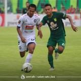 Hendro Siswanto, salah satu pencetak gol Arema FC ke gawang Persebaya. (official Arema FC)
