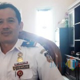 Kepala Dishub Pemkot Blitar, Priyo Suhartono.(Foto : Team BlitarTIMES)