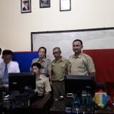 Perekaman e-KTP di  SMKN 1 Doko