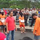 Polisi Lakukan Reka Adegan Kasus Pengeroyokan dan Pembunuhan di Gadang, 52 Adegan Diperagakan Para Pelaku