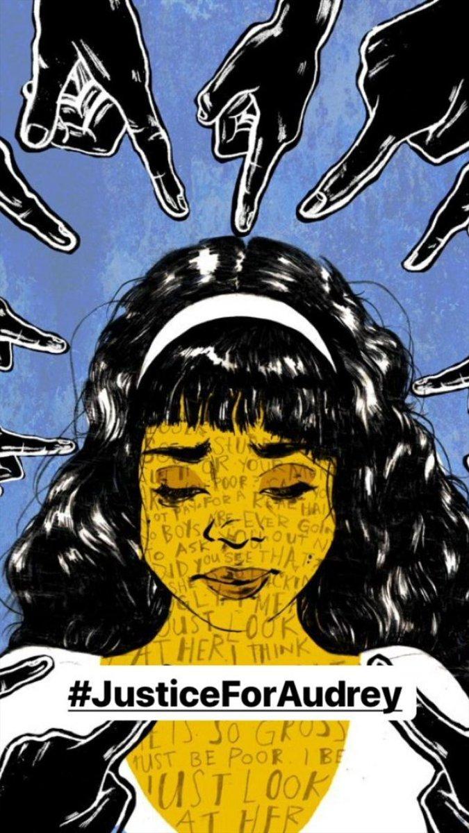 Tagar- #JusticeForAudrey menjadi trending topik, warganet semakin geram kelakuan pelaku penganiayaan (Ist)