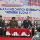 Wali Kota Malang, Drs. Sutiaji saat sesi rembug budaya bersama pakar budaya (Igoy)