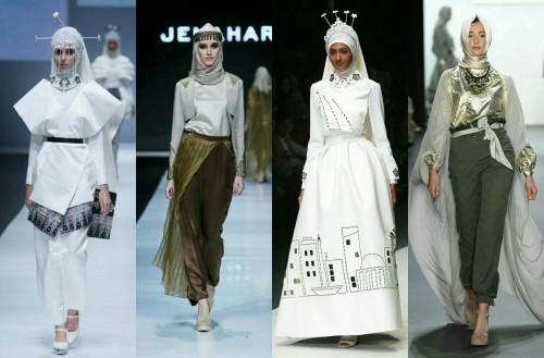 Fashion muslim on runway. (Foto istimewa)