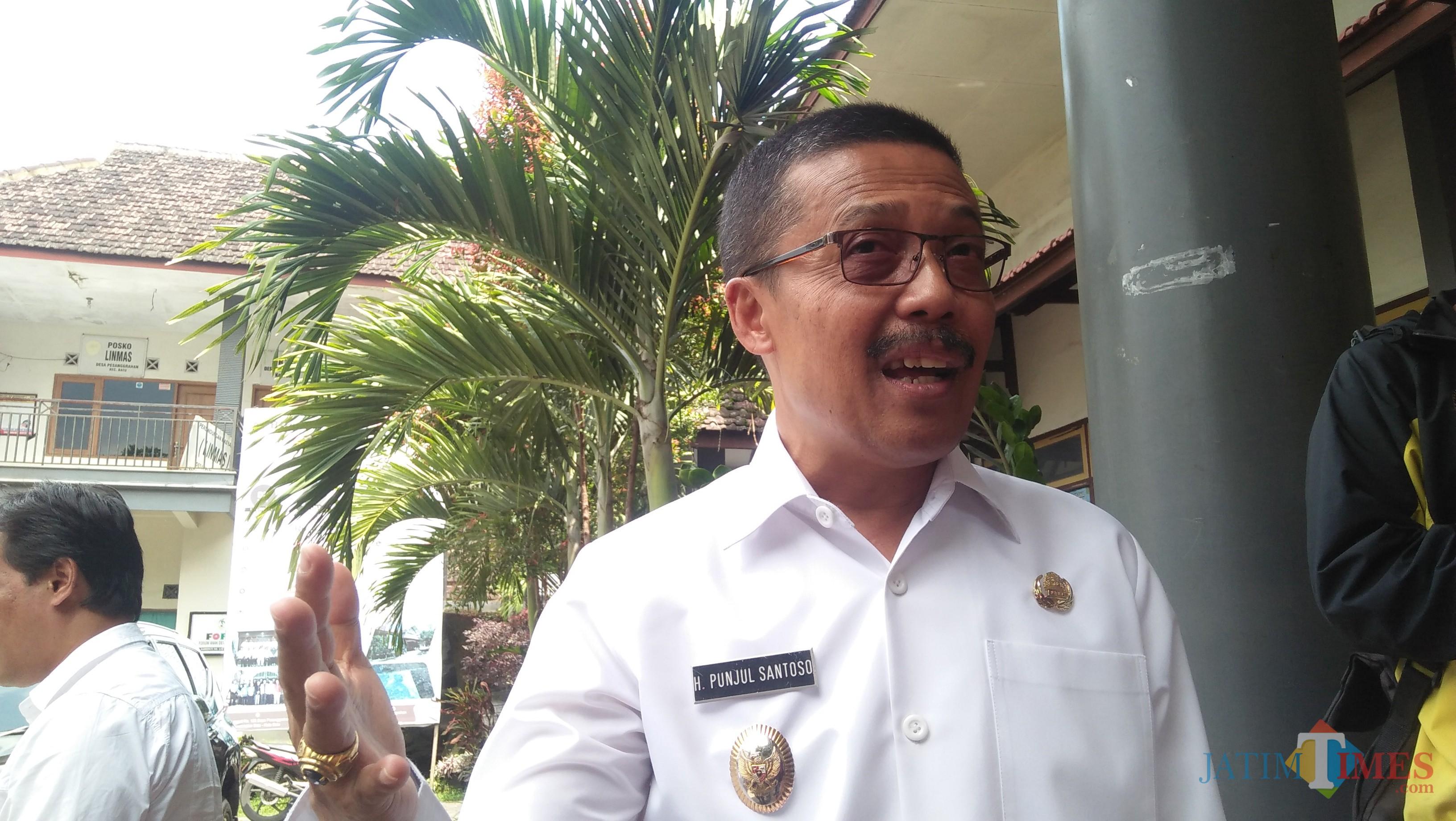 Wakil Wali Kota Batu Punjul Santoso (Luqmanul Hakim/Malang Times)