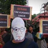 Dua Tahun Kasus Novel Baswedan, Aktivis Malang Tuntut Jokowi Evaluasi Kinerja Polisi