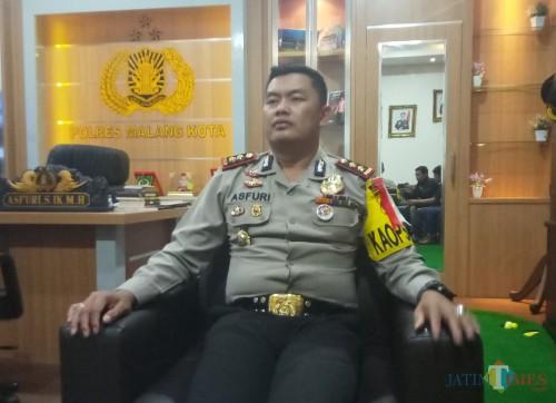 Kapolres Malang Kota AKBP Asfuri SIK SH MH (Anggara Sudiongko/MalangTIMES)