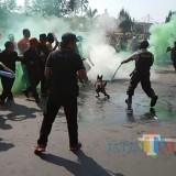 Situasi Simpang Balapan Kota Malang Sempat Memanas, Semua Unit Kepolisian Turun Lapangan, Ada Apa Ya?
