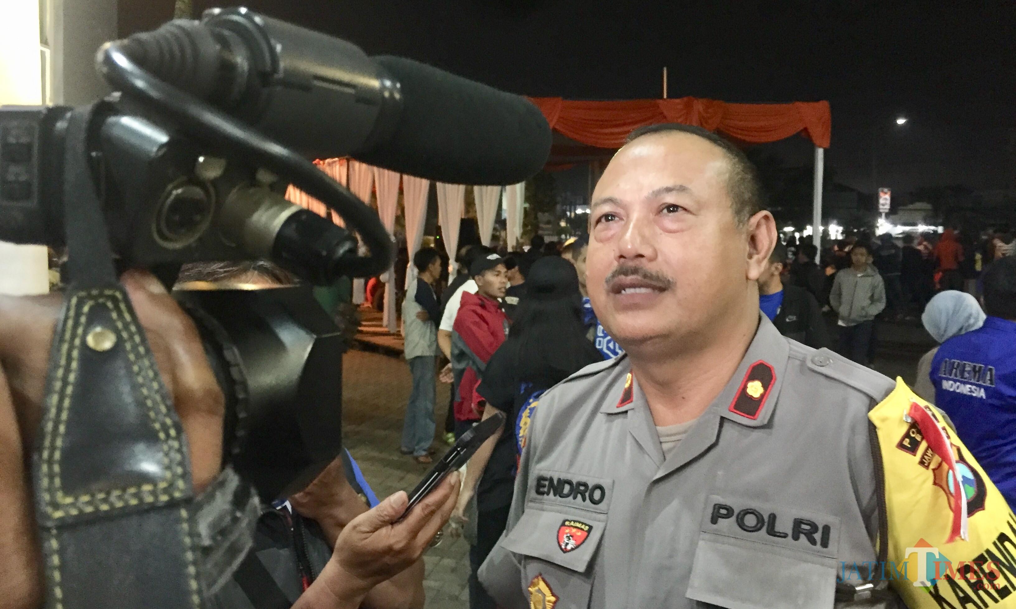Kepala Bagian Ops Polres Batu, Endro Sujiat. (Foto: Irsya Richa/MalangTIMES)