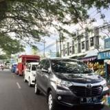 Kondisi kemacetan di Jl Ir Soekarno Kecamatan Junrejo, Kota Batu. (Foto: Irsya Richa/MalangTIMES)