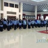 Suasana pelantikan 90 pejabat fungsional yang dilakukan bupati Jember. (foto : Moh. Ali Makrus / Jatim TIMES)