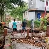 Air Meluap di Dua Titik Lokasi di Kota Batu Gara-Gara Sampah