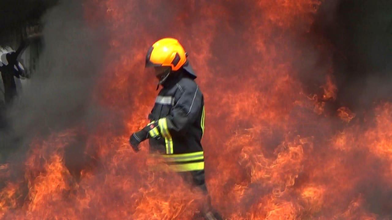 ilustrasi petugas saat menjinakkan kebakaran, Kabupaten Malang (Foto : Istimewa)