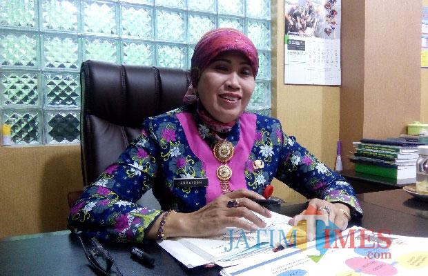 Kepala Dinas Pendidikan Kota Malang, Zubaidah (foto dok MalangTIMES)
