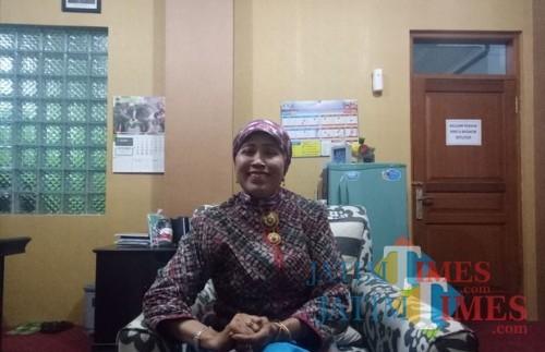 Kepala Dinas Pendidikan Kota Malang, Dra Zubaidah (foto dok MalangTIMES)