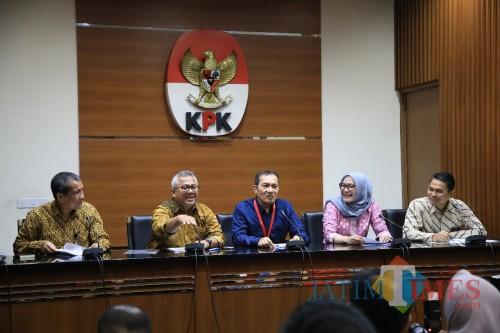 Kegiatan publikasi hasil pelaporan LHKPN oleh KPK dan KPU di Jakarta. (Foto: Dokumen MalangTIMES)